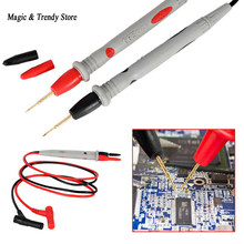 Ultra Fine Universal Probe Test Leads Cable Multimeter Meter 1000V 20A Hot Sale(China)