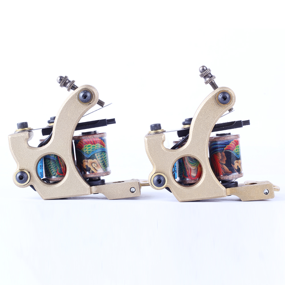 Hot Sell  2017 Newest Professional Rotary Machine  Shader & Liner  Tattoo Gun for Tattoo Artist  Top Quality hot professional handmade tattoo gun for shader