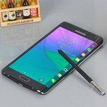 Desbloqueado original samsung galaxy note edge n915 telefone móvel eua versão 4g android 5.6