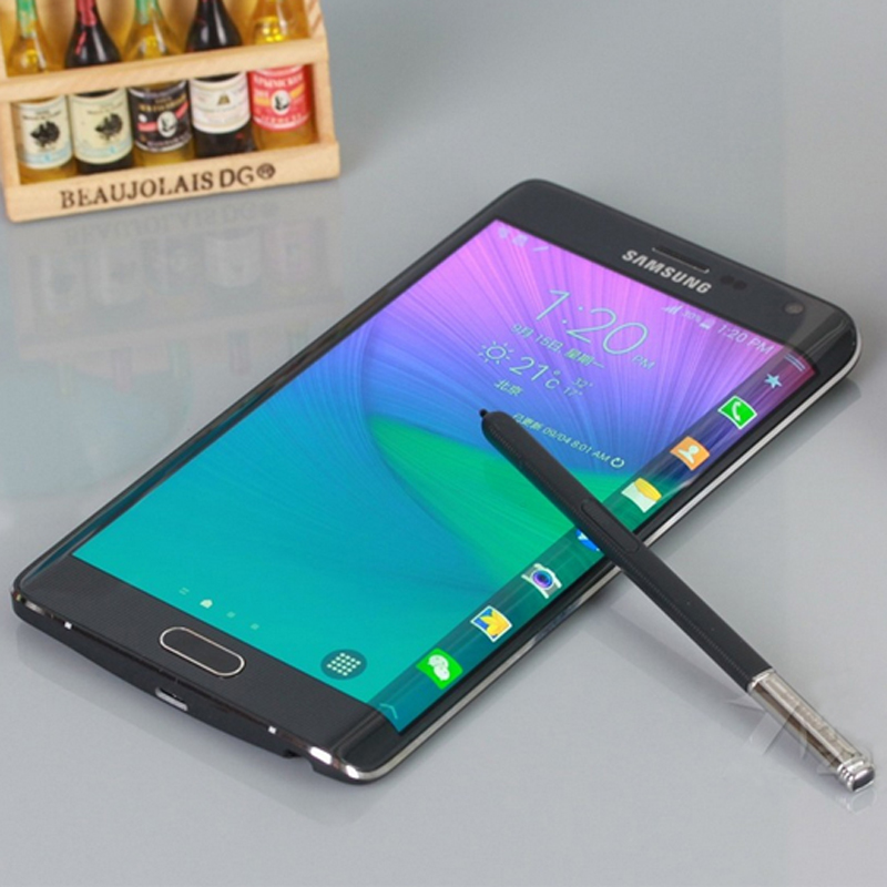 unlocked original samsung galaxy note edge n915a mobile phone 4g android 5 6 16mp 32gb rom free