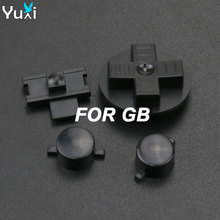 YuXi 10sets DIY Buttons Set Replacement for Gameboy Classic GB DMG A B buttons D-pad Button