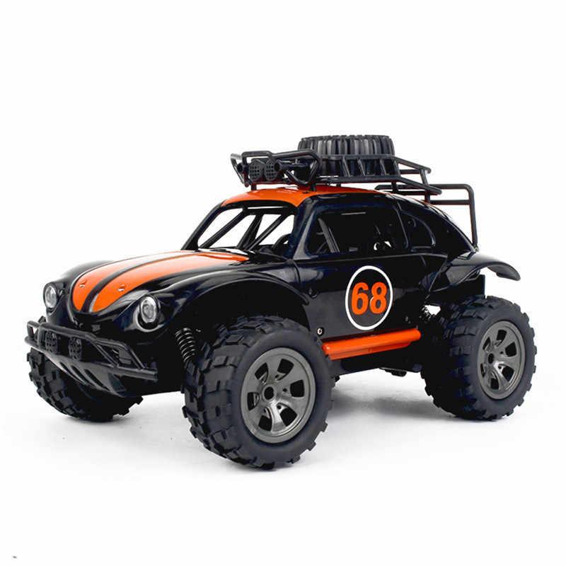 Kyamrc 1816A 1/18 2.4 グラム rwd ミニ rc カーシミュレーションカブトムシ電動車のおもちゃ rtr モデル屋外男の子のギフトのため