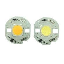 5pcs/lot LED Lamp COB Chip 10W 12W 15W Real Power 220V Input Smart IC DIY For Spotlight Floodlight Cold White Warm White