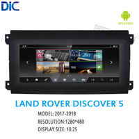 DLC Navigation car player GPS android car styling keep original system video audio For Land Rover Range Discovery 5 2017 2018