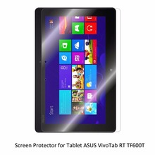 Clear LCD PET Movie Anti-Scratch/ Anti-Bubble / Contact Responsive Display screen Protector for Pill ASUS VivoTab RT TF600T
