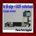 32 gb para samsung galaxy s6 edge + g928f motherboard, europa versión original desbloqueado para s6 edge plus g928f placa envío gratis