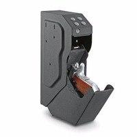 LESHP Safety Password Box Safe Gun Box Portable Secret Strongbox Security Digital Code Metal Case OS580C