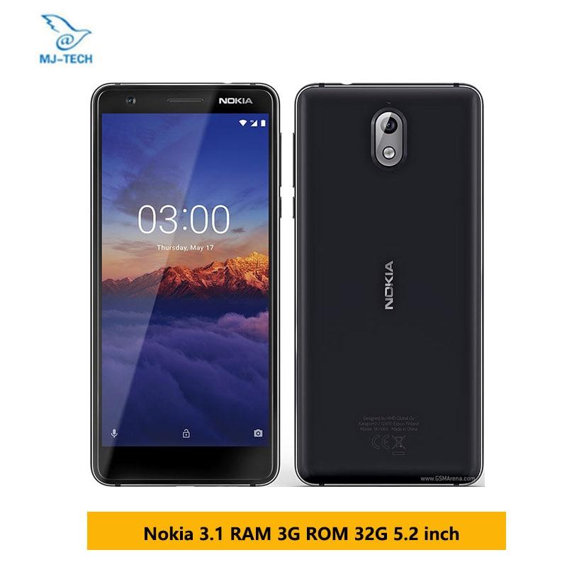 india version NOKIA 3 1 RAM 3G ROM 32G Nokia 3 2018 5 2 INCH 18