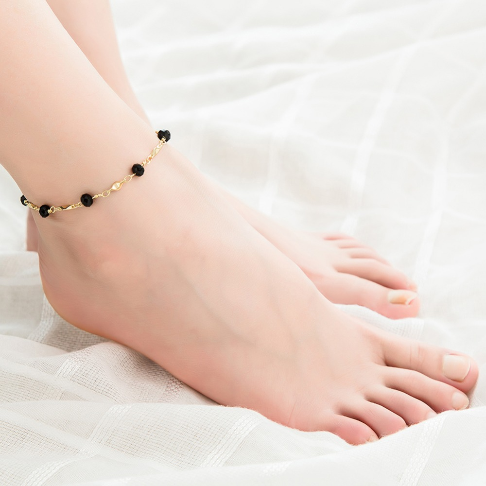Hot Sales Fine Sexy Anklet Bracelet Barefoot Sandals Foot Jewelry Leg Chain On Foot For Women Leg Chain Lady Perfect Gift