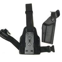 Tactical Colt 1911 Gun Case Leg Holster Airsoft Pistol Hunting Equipment Right Hand Tactical Hand Gun Holster Thigh Holster