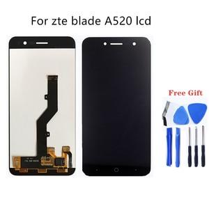 Image 1 - Für zte blade A520 LCD display touchscreen handy LCD Display Für zte blade A520 Reparatur kit + kostenloser zu