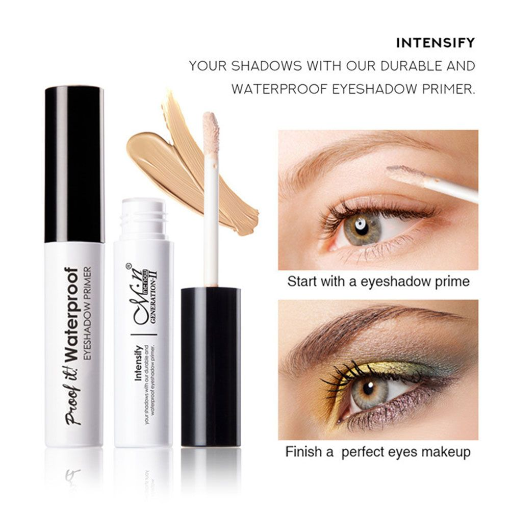 Professional Natural Primer Makeup Waterproof Cream Gel Eye Under Shadow Eyelid Eyeshadow Base Primer Makeup Moisturzing image
