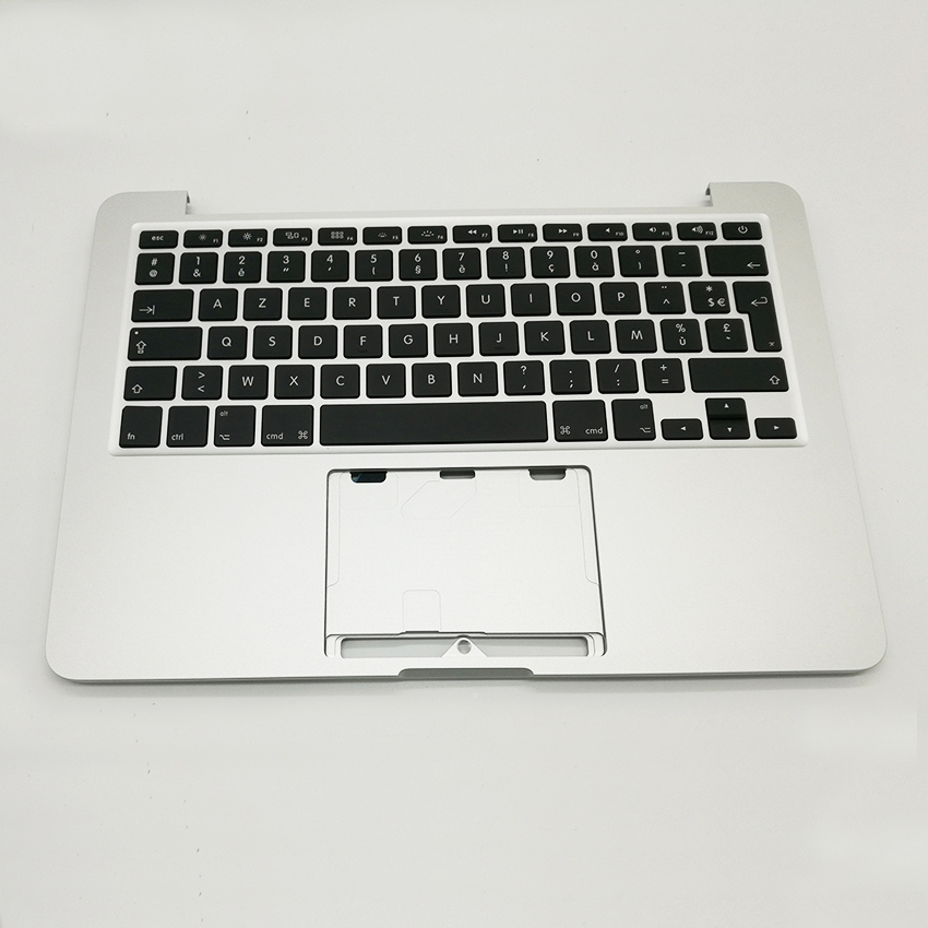 New Top Case with AZERTY FR French Keyboard for MacBook Pro Retina 13
