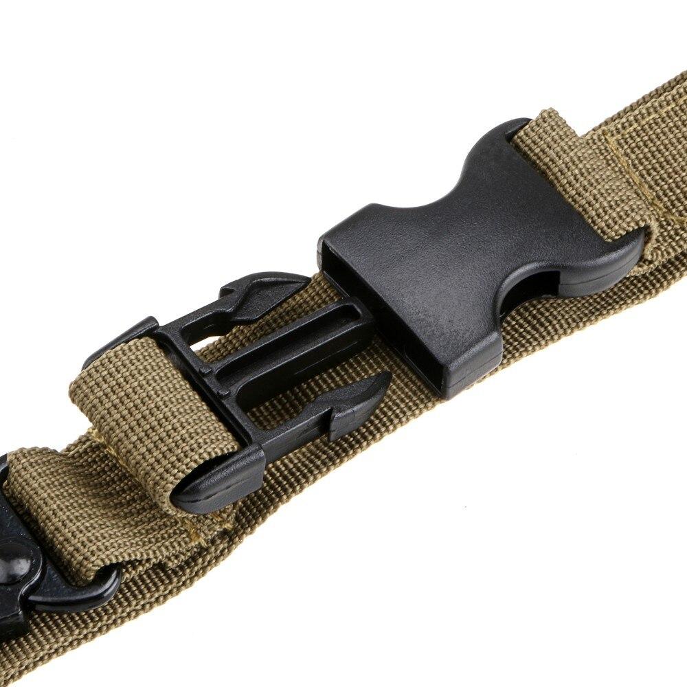 Тактический Пистолет Слинг 3 точечный банджи страйкбол винтовка ремень для стрельбы Охотничьи аксессуары три точечный Пистолет Ремень боевой ремень