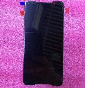 Image 4 - 2018 オリジナル amoled スクリーン asus ROG 電話 Zs600kl z01QD Lcd ディスプレイタッチスクリーンデジタイザアセンブリの交換スペアパーツ