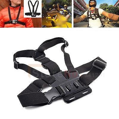 Free shipping Gopro Chest Shoulder body Belt Strap Mount B For Gopro HD Hero 4 2