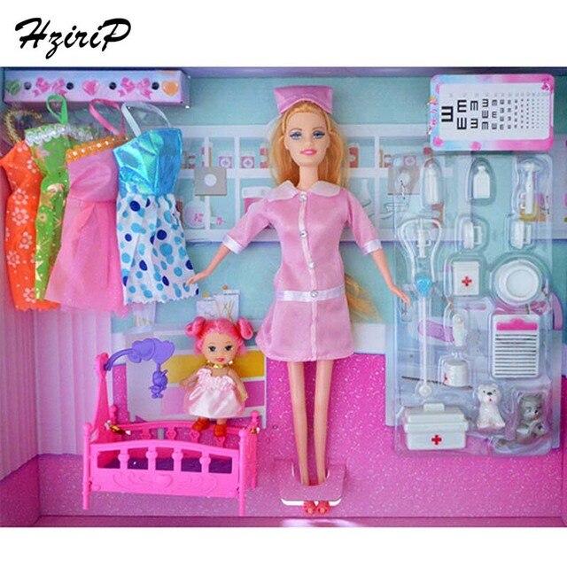 Hot sale baru gadis princess doll toys aksesoris boneka dokter berpura-pura  bermain toys anak 43234dd5b8