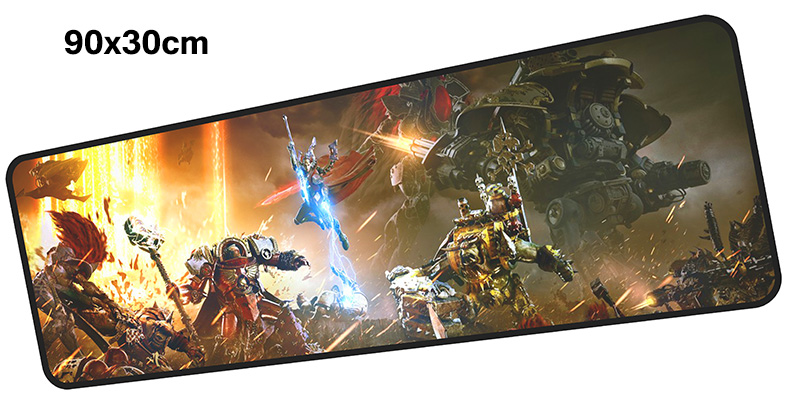 warhammer 40k mousepad gamer 900x300X3MM gaming mouse pad large Adorable notebook pc accessories laptop padmouse ergonomic mat