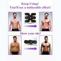 Men Women Portable Home Exercise Shape Fitness Set USB Abdominal Massager Muscle Training Gear Gym Body Building Equipment