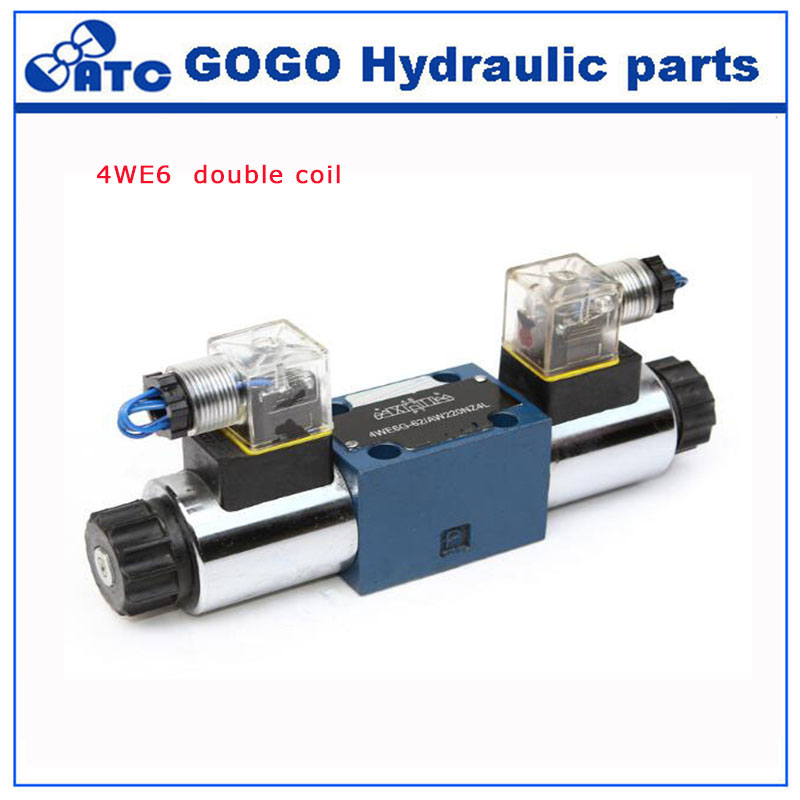 4we6 series electromagnetic directional valve commonly used hydraulic valve spare parts