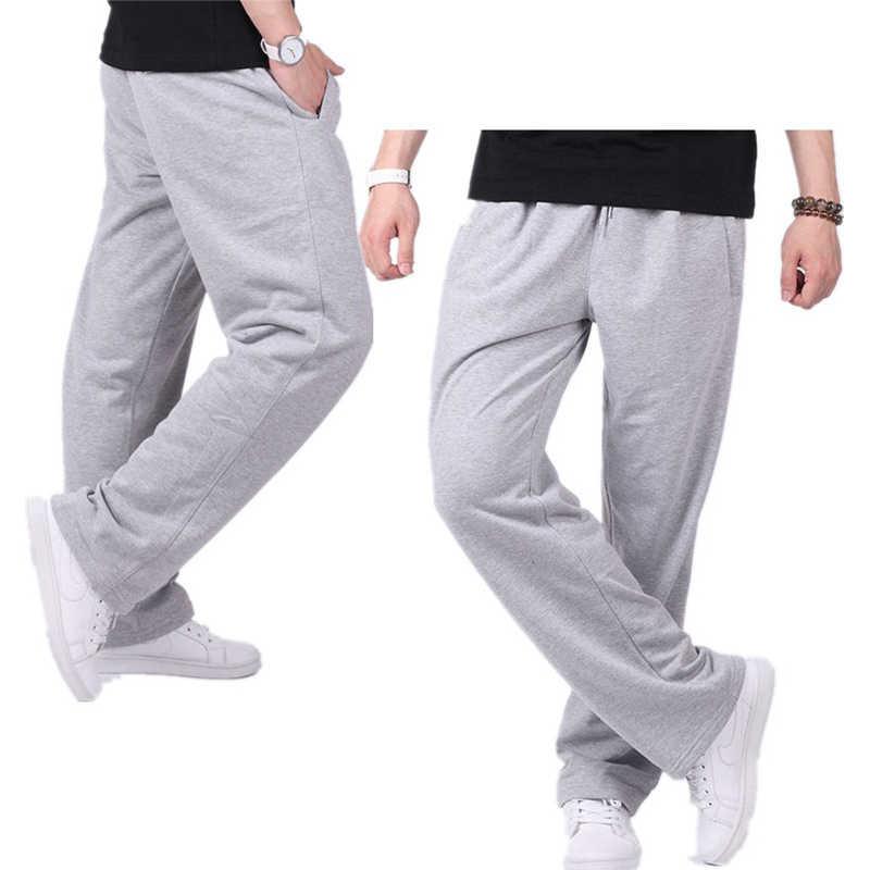 綿 Sweatpant 男性ルース男性のジョギングスウェットパンツカジュアルパンツズボンズボンワークアウト 2019 春秋原宿ストリート