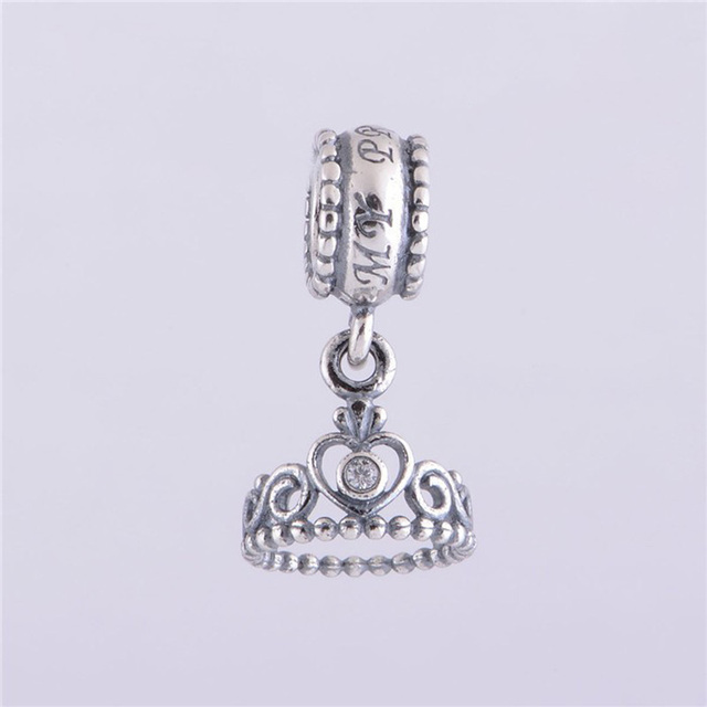 81ec8e850309 Authentic 925 Sterling Silver My Princess Tiara Original Charms Beads Fits PANDORA  Bracelets Charm DIY Jewelry Gifts for Women