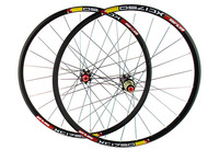 Brand Newest 26 27 5 Inch Clincher Rims Mountain Bicycle Matt UD Full ALLOY Bike Wheelsets