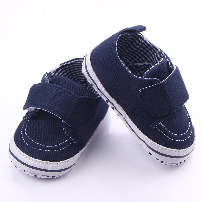 2017 Autumn Winter Canvas Stitching First Walkers Baby Girls Mocassins Soft Sole Sneaker Toddler Shoes