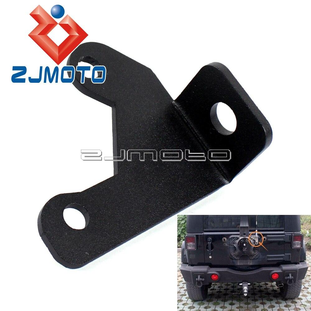 Rear Antenna Mount Bracket Mount Holder Rear Tailgate CB Antenna Mount Bracket For Jeep Wrangler