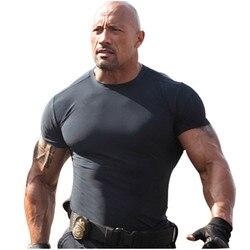 #4001 hommes Sports Gym Fitness entraînement course boxe Compression Base couches sous chemises thermique hauts peaux vêtements S-XXL