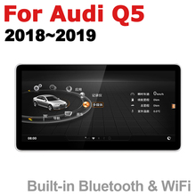 Car Audio Android 7.0 up GPS Navigation For Audi Q5 FY 2018~2019 MMI WiFi 3G 4G Multimedia player Bluetooth  1080P