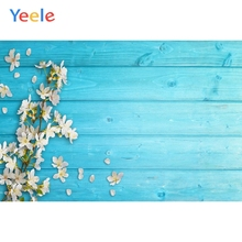Yeele Wooden Board Planks Petal Fresh Flower Portrait Photography Backgrounds Customized Photographic Backdrops for Photo Studio yeele rose flower simple wooden board texture planks goods show photography backgrounds photographic backdrops for photo studio