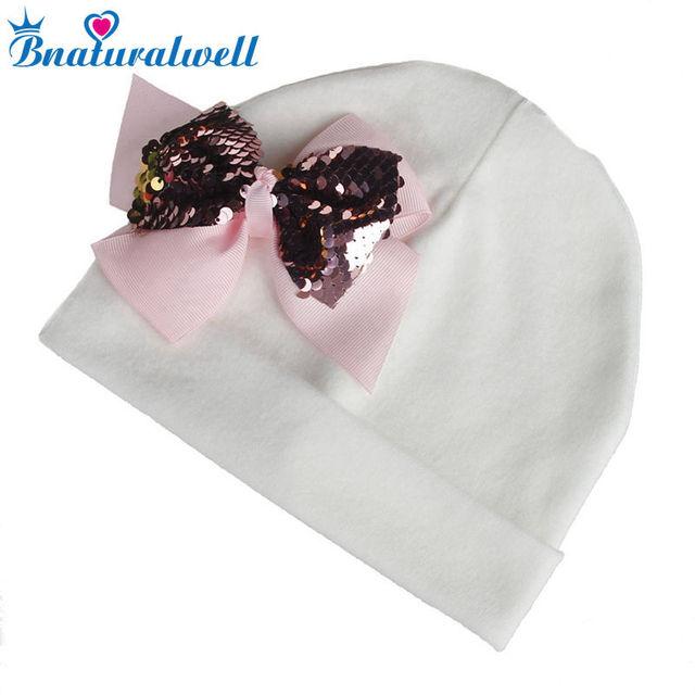 4feb051f34d Bnaturalwell Personalised New Baby Cotton Hats Flower Beanie Hat Baby Girl  Newborn Pink Hat Baby Shower