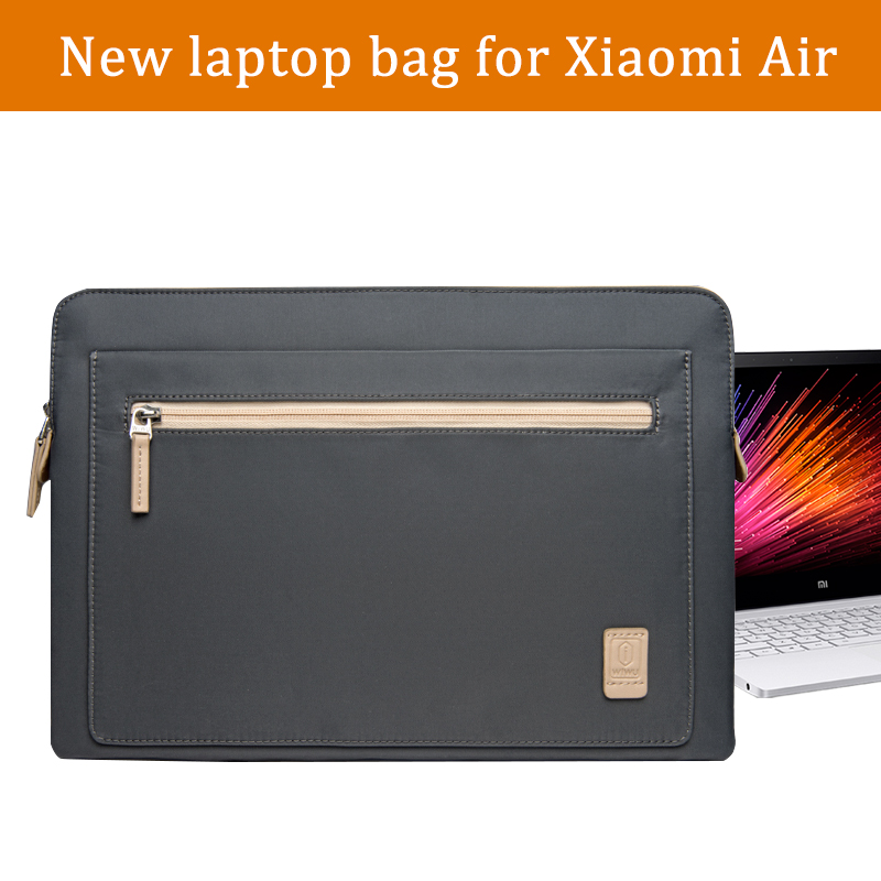 все цены на New 13.3 inch Laptop Bag for xiaomi mi notebook air 12.5 inch Laptop Case Briefcase 12 13 inch Laptop Sleeve for Men Waterproof онлайн