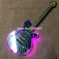 Free delivery of 2016 new products of Shanghai music show crystal F hole electric guitar pickups sound good