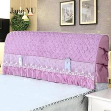 цены JaneYU Bedside Cover Bed Cover Dust-proof Cover Bed Simple Cotton Clip Soft Bag,European Solid Wood Protective Cover
