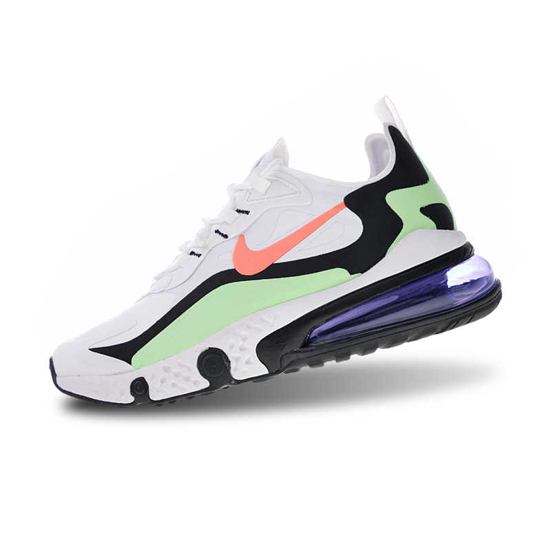 fa3f80d3e0 ... Nike React Air Max Sneakers Breathable Stability Running Shoes Sports  for Men AQ9087-183 40 ...