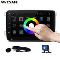 8 Android 4 4 Car Radio Player Autoradio Dvd Gps Navigation Bluetooth Steering Wheel Controls For