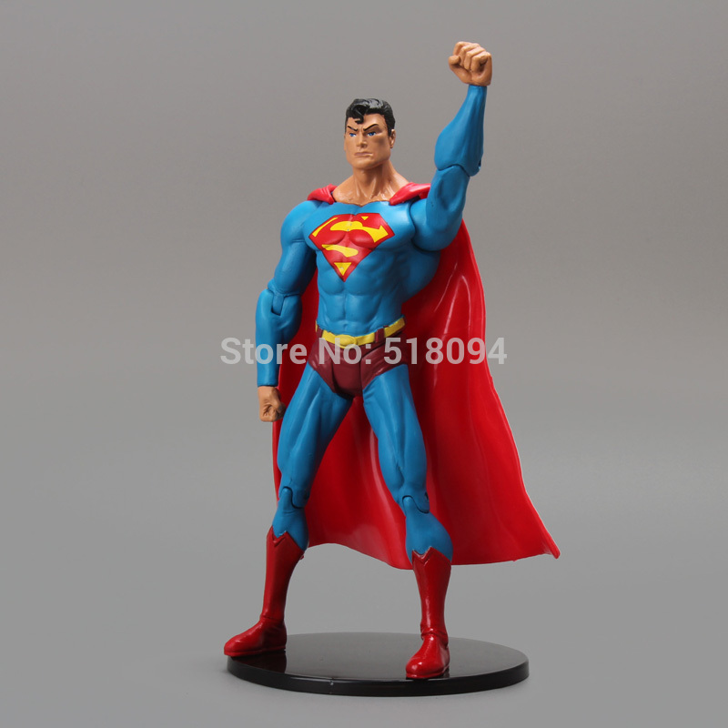 DC Comics Superhero Superman PVC Action Figure Collectible Model Toy 7 18cm shfiguarts batman injustice ver pvc action figure collectible model toy 16cm kt1840