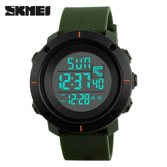 New SKMEI Brand Sport Digital Watch Men Fashion Waterproof Multifunction Military LED Digital Watches Outdoor Wrist Watch