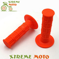 Orange MX Gel Rubber HandleBar Grip For KTM 50 65 85 125 150 200 250 300 400 450 525 EXC EXCF XC XCF XCW XCFW MX EGS SX SXF SXS