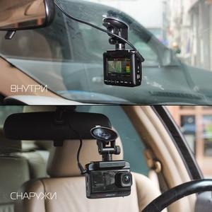 Image 3 - Ruccess DVR Xe Ô Tô 3 Trong 1 Đầu Ghi Cảm Radar GPS Full HD 1080P Camera Kép Tự Động Ghi Hình 1296P Nga Tầm Nhìn Ban Đêm WDR ADAS