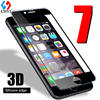 3D TPU Edge Tempered Glass For iphone 7 7plus Full Screen Protector Silicone edge Glass Protective For iphone7 Free Clear Case