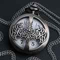 Silver Batman Pocket Watch Retro Vintage Bronze United State Coast Quard 1790 Necklace mens Gift P954-5