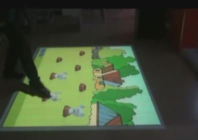 Interactive floor projection pro version system (hardware and softwar all in one) for Advertising, event, wedding