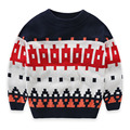 Boy Winter Jumper Sweater Pullover Baby Boys Long Sleeve Wool Sweaters Children Clothing Kids High Quality Knitted Sweater