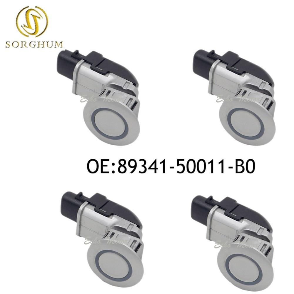 Nouveau 4 pièces 89341-50011-B0 Parking Capteur À Ultrasons pour Toyota Celsior Lexus LS430 2002-2006 89341-50011