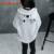 Chifave 2015 Muchachas Del Invierno Del Otoño Muchachas de Los Niños Lindos Sudaderas Carácter Patrón Batwing Manga Camiseta Caliente para Las Niñas