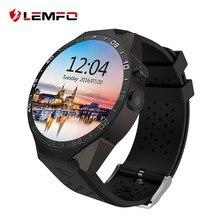Ограниченное предложение LEMFO KW88 умные часы Android Smartwatch монитор сердечного ритма часы телефон Smartwatch Android gps с 2MP Камера