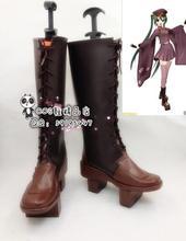 Anime VOCALOID Hatsune Miku Senbonzakura Halloween Bé Gái Cosplay Dài Giày Boots